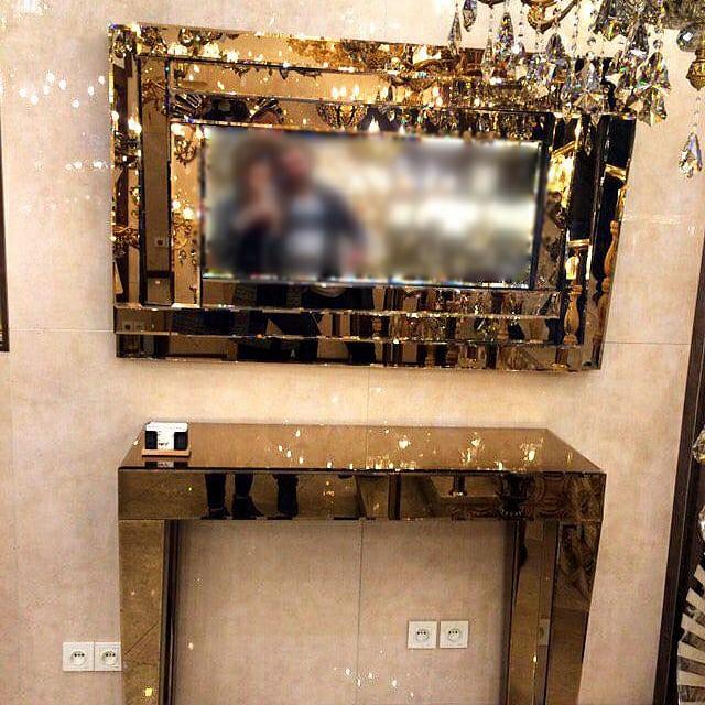 آینه دکوراتیو در دکوراسیون داخلی