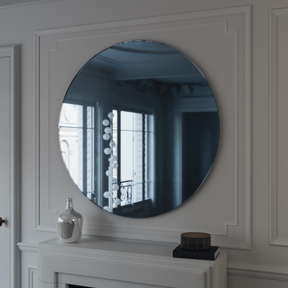 استفاده از آینه آبی