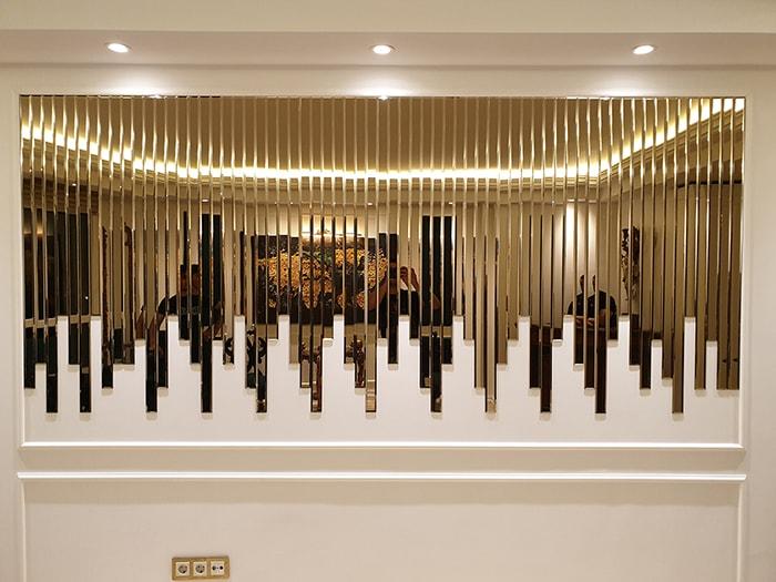 آینه آبشاری دکوراتیو