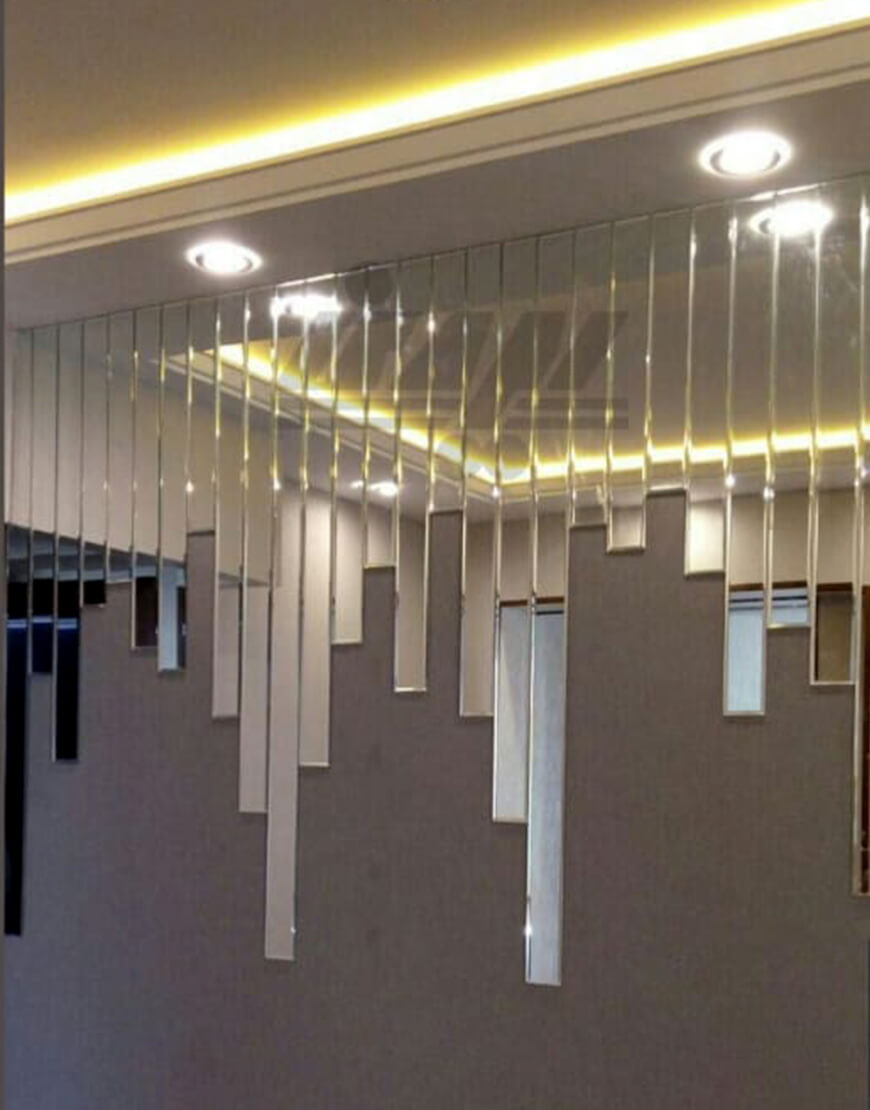 کاربرد آینه های آبشاری در دکوراسیون خانه