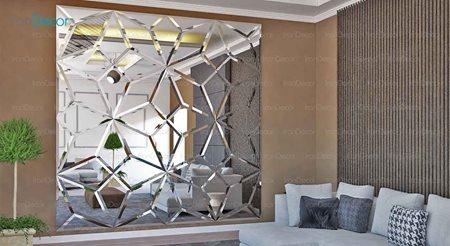 آینه های دکوراتیو دیواری حجمی