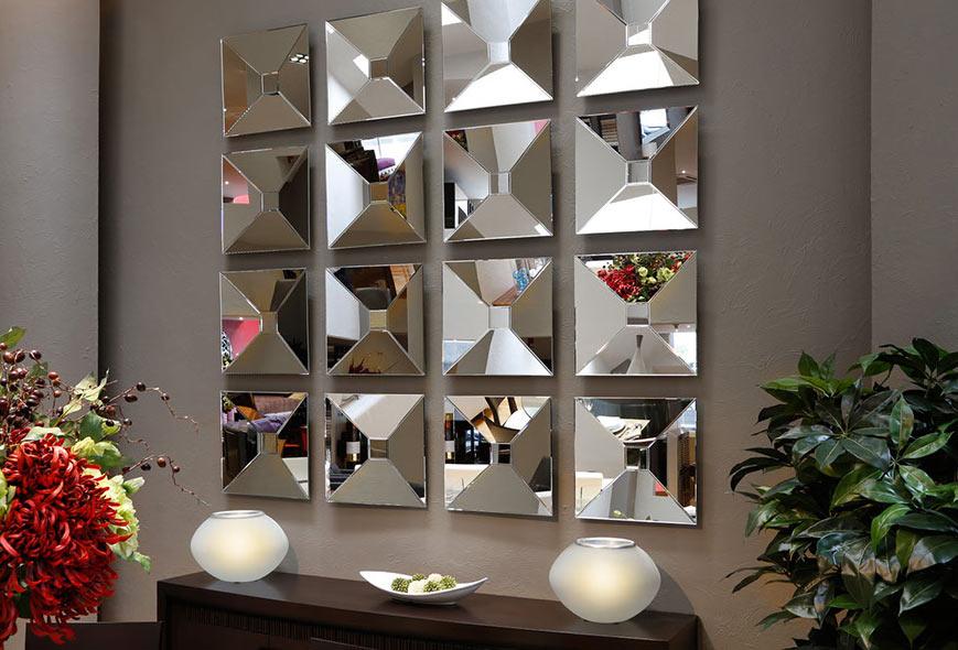 آینه کاری دکوری در دکوراسیون داخلی