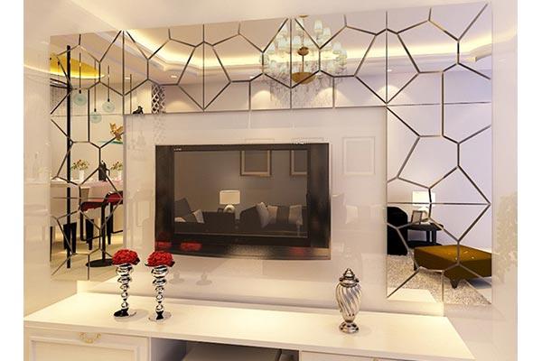 آینه کاری خانه های دلباز و روشن