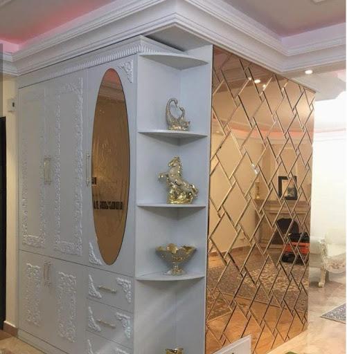 نصب آینه های تراش دار و کاربرد آینه در فضاهای کوچک