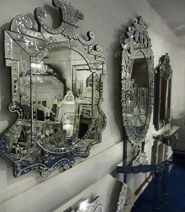 تاریخچه آینه ونیزی