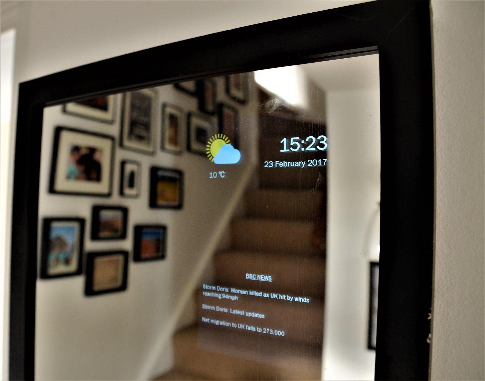 همه چیز درمورد آینه هوشمند