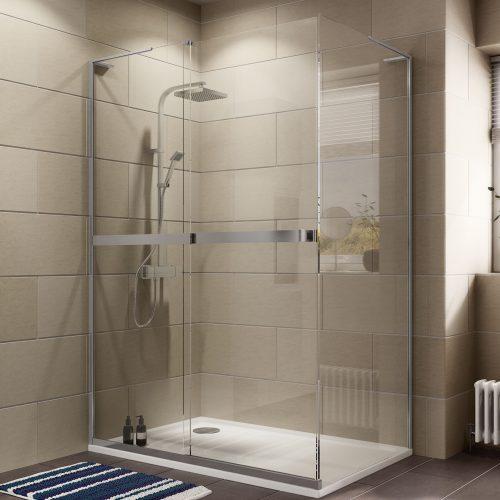 کابین دوش حمام آپارتمانی
