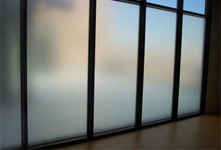 پنجره دو جداره مات