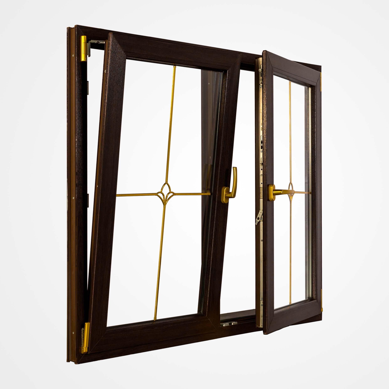 دَر و پنجره های دو لنگه مولیون ثابت