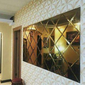کاربرد آینه کاری در دکوراسیون خانه