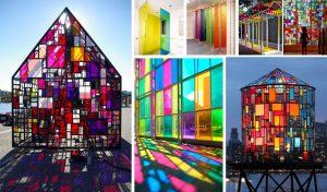 تشخیص کیفیت و شرایط نگهداری شیشه های رنگی