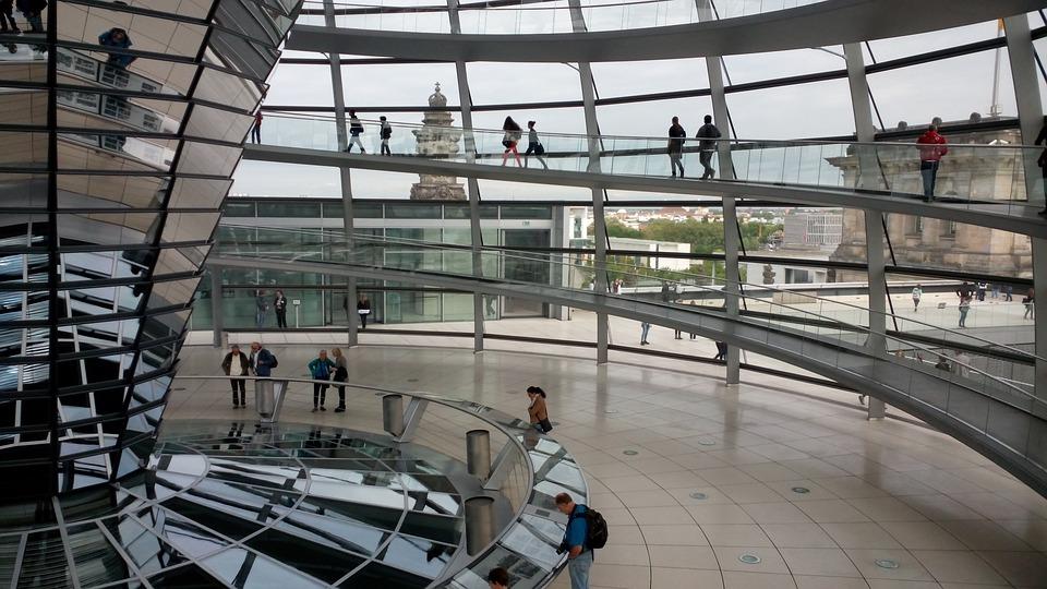 کاربرد شیشه و آینه در کشور آلمان