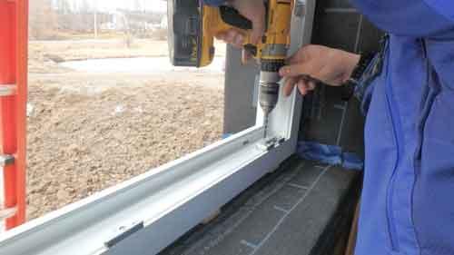 نصب پنجره های دو جداره