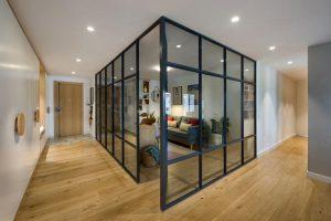 کاربرد شیشه در اجرای دکوراسیون داخلی- پارتیشن