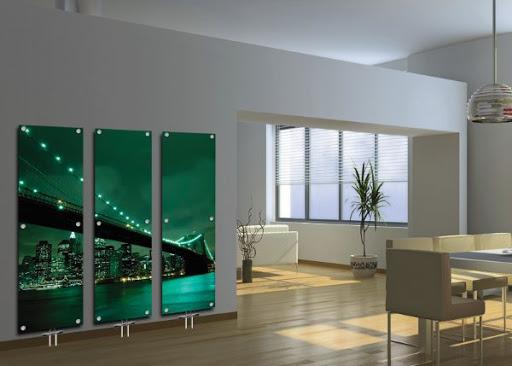 منظور از رادیاتور های شیشه ای کوچک چیست؟