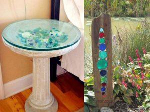شیشه های رنگی برای میز - بخش دوم