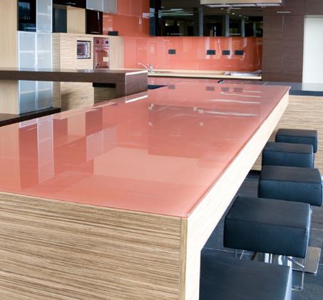 شیشه های رنگی برای میز - بخش اول