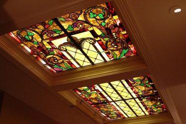 کاربرد شیشه در ساخت سقف کاذب
