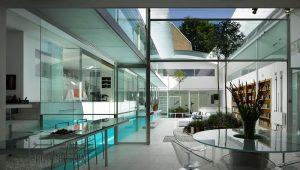 کابرد شیشه در تزئینات داخلی