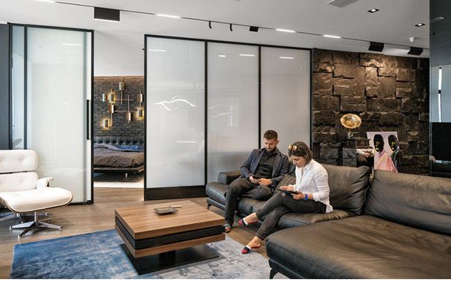 شیشه های مدرن در طراحی دکوراسیون
