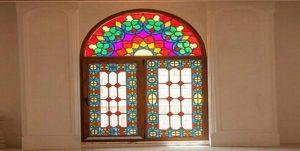 شیشه رنگی در معماری های امروزی