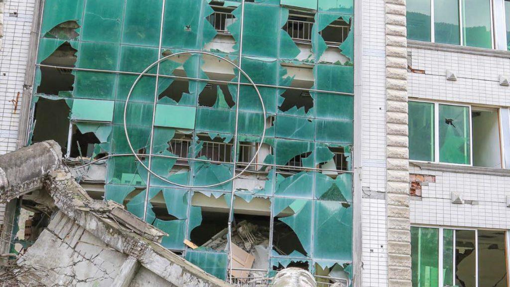 شیشه ضد زلزله