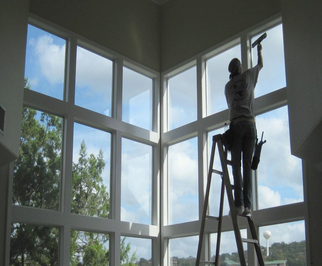 پاک کردن پنجره