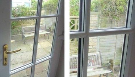 زمان تعمیر شیشه های پنجره